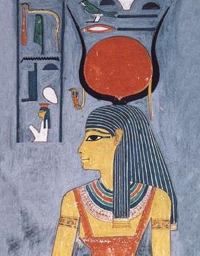 صورة مصر في الحصان الابيض الربة إيزيس