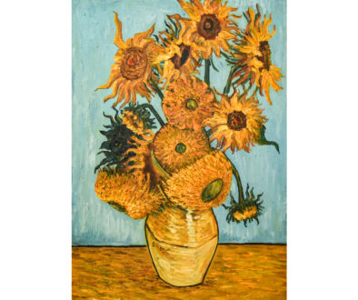 Abstract-Flower-canvas-printing-Vincent-van-Gogh