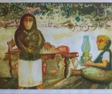 لوحة للفنان سعيد حداية